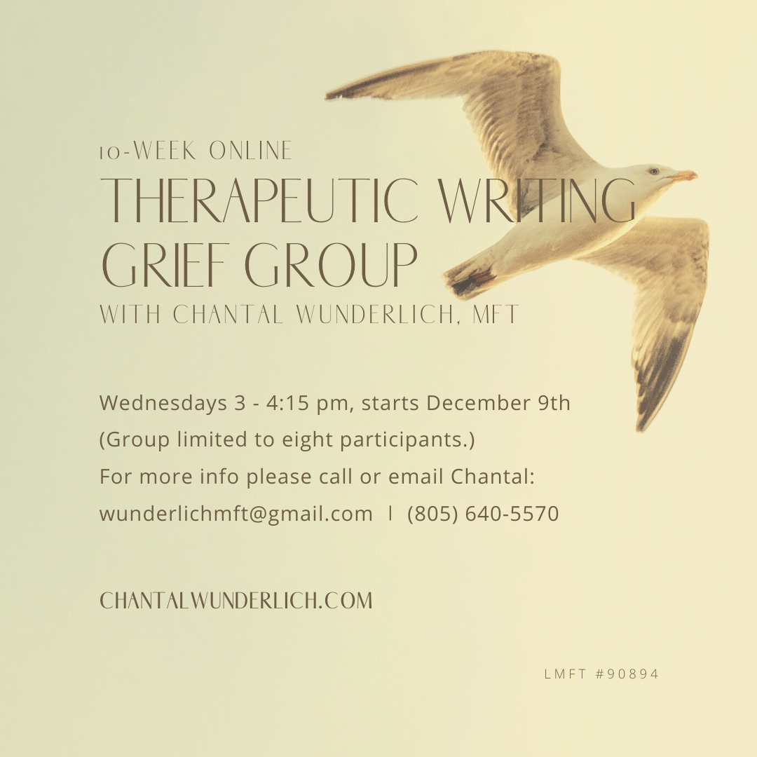 Online Writing Group Therapy