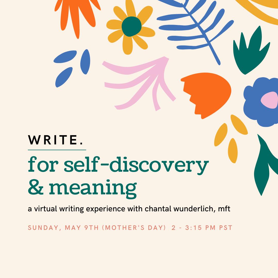 May Writing Workshop