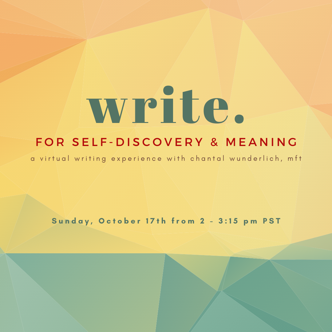 therapeutic writing group